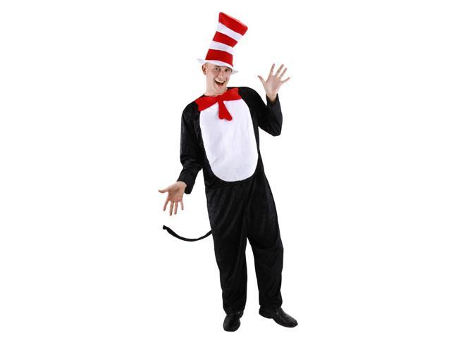 Dr. Seuss Cat In The Hat Costume Adult Large/X-Large