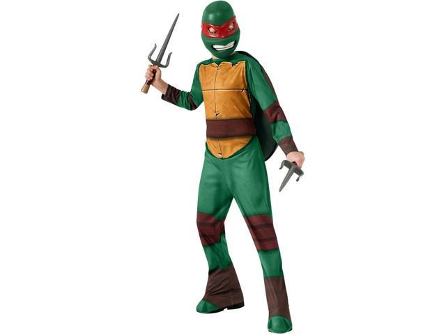 T.M.N.T. Raphael Costume Child Large