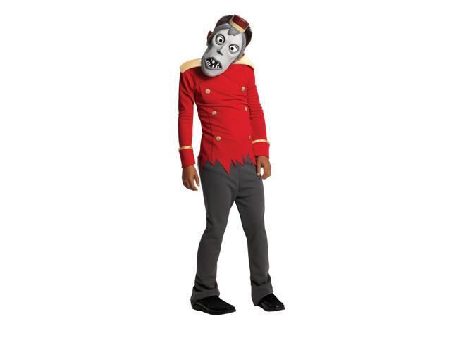 Hotel Transylvania Zombie Bellman Costume Child Medium