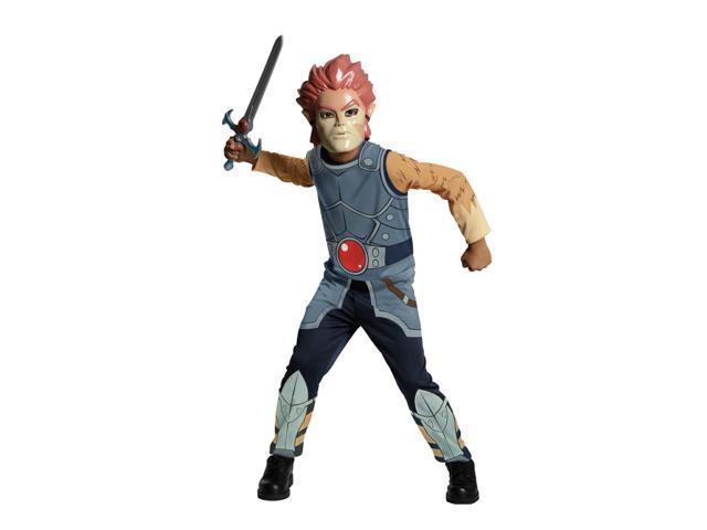 Thundercats Lion O Jumpsuit & Mask Costume Child Large 12-14
