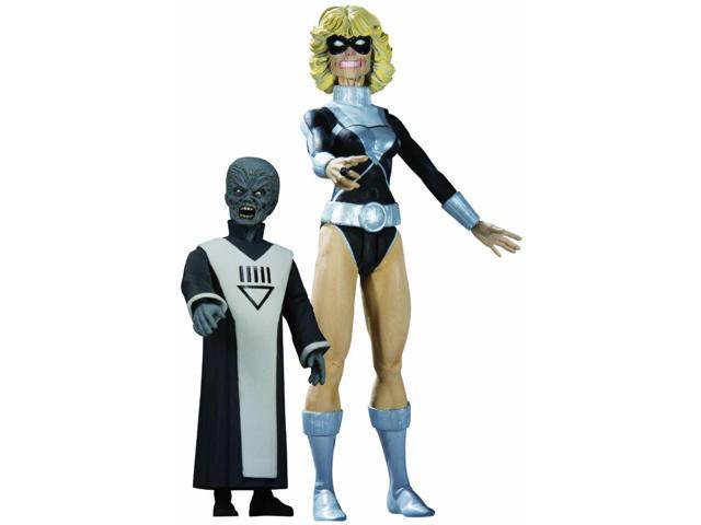 Blackest Night Series 7 Action Figure Black Lantern Terra With Scar