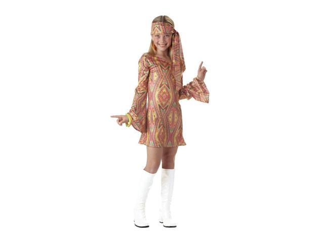 Disco Dolly Costume Child Tween 10-12