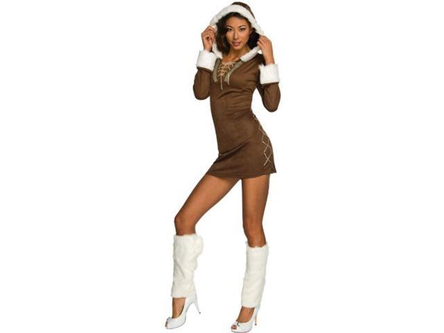 Enchanting Sexy Female Eskimo Costume Adult Medium