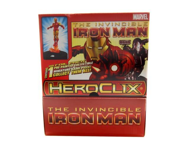Heroclix Marvel Invincible Iron Man Gravity Feed Case of 24
