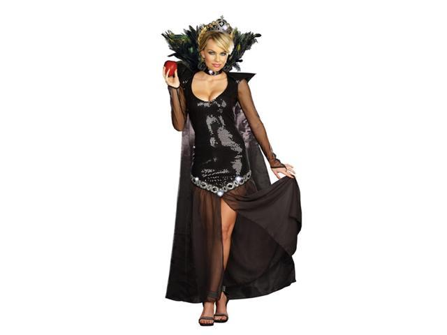 Sexy Evil Queen Of Mean Sequin Dress Costume Adult Small 2-6