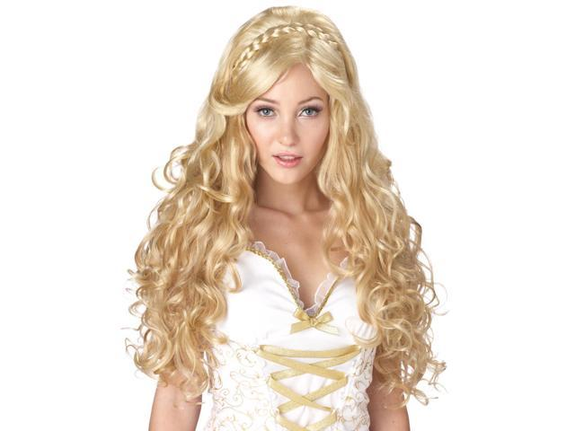 Blonde Mythic Goddess Long Costume Wig Adult One Size
