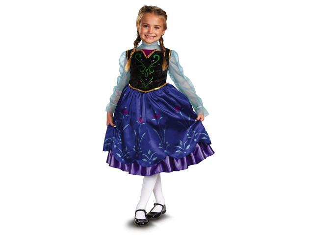 Disney Frozen Deluxe Anna Costume Child Toddler Small 4-6X