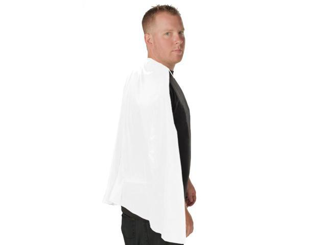 Deluxe Super Hero Costume Cape White One Size Fits Most