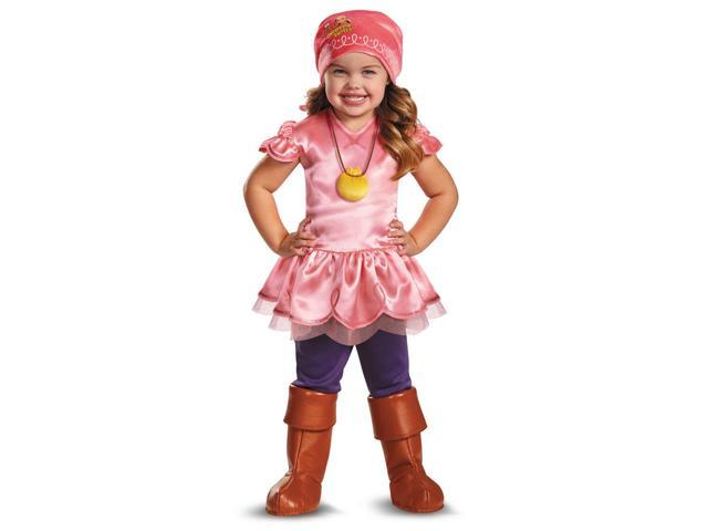 Jake & The Neverland Pirates Disney Deluxe Izzy Child Toddler Costume 2T