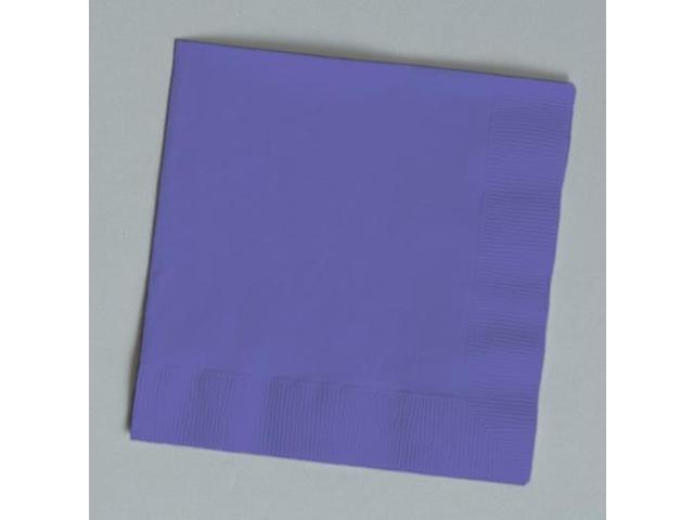 Touch of Color 150 Count Luncheon Napkins Purple