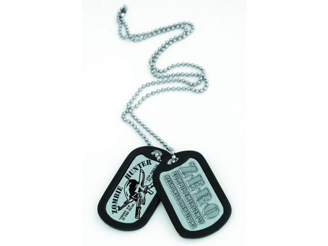 Zombie Hunter Dog Tag Souvenir Gift Set