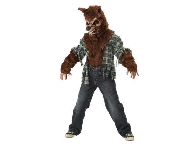 Howling At The Moon Werewolf Costume Child X-Large