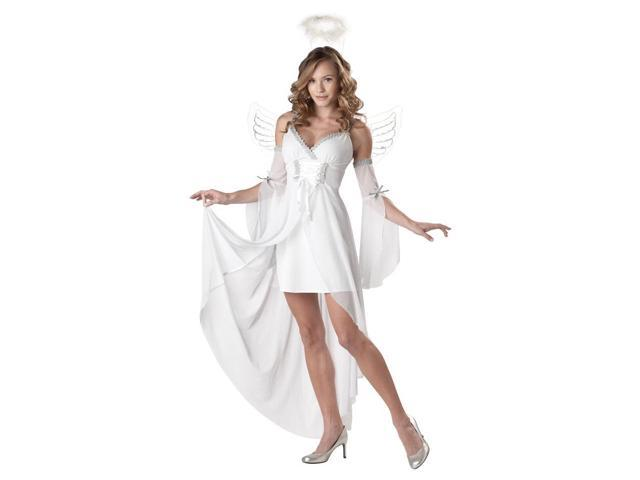 Sexy Heaven'S Angel Adult Costume Large 10-12