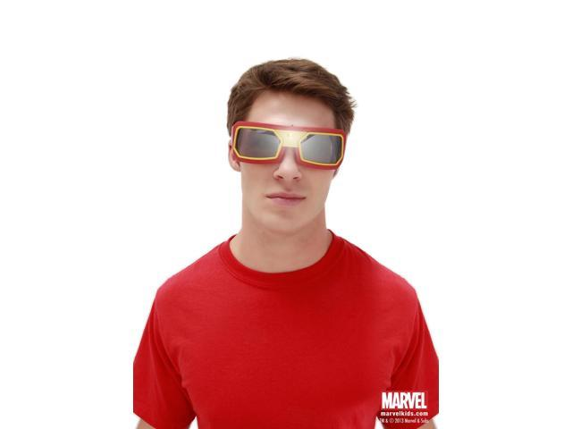 Iron Man Light Up Costume Goggles Adult One Size