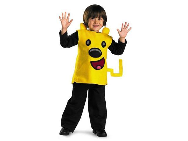 Wow! Wow! Wubbzy Child Classic Costume Toddler Small 2T