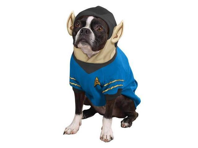 Star Trek Spock Dog Costume Hoodie Pet Large