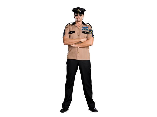 Highway Patrol Cop Police Officer Willy Rider Costume Adult X-Large