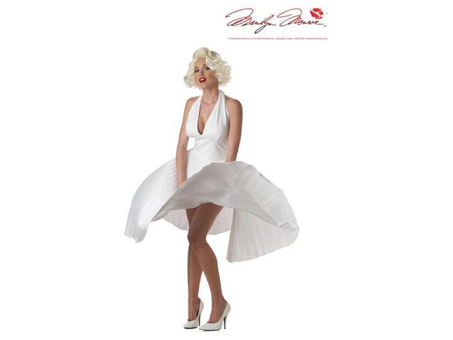 Deluxe Marilyn Monroe Costume Adult Large