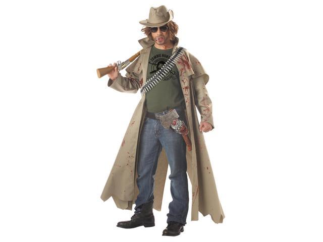 Zombie Hunter Costume Adult Medium 40-42