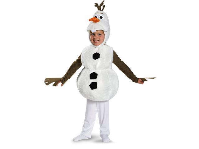 Frozen Disney Deluxe Olaf Child Toddler Costume 2T