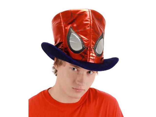 Spider-Man Costume Top Hat Adult One Size