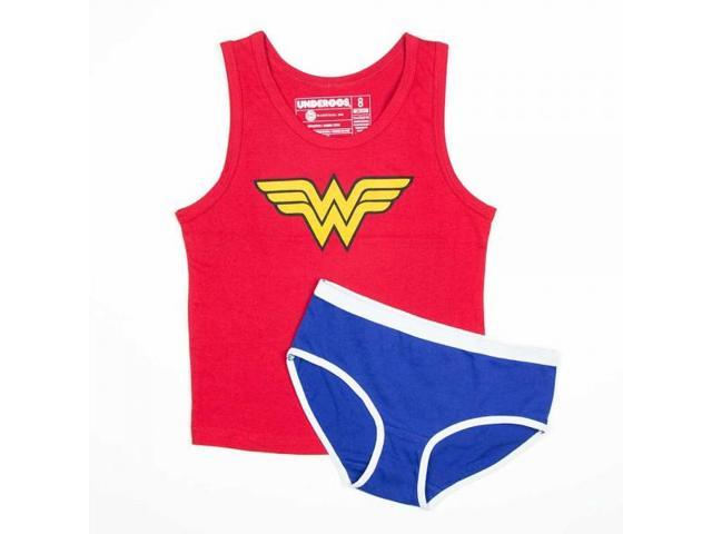 DC Comics Wonder Woman Girl's Tank/Underwear Underoos Set X-Small 4