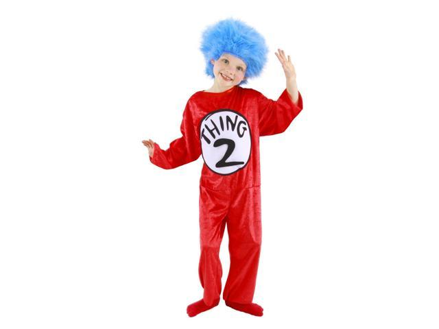 Dr. Seuss Thing 1 & 2 Costume Child Toddler 2-4T