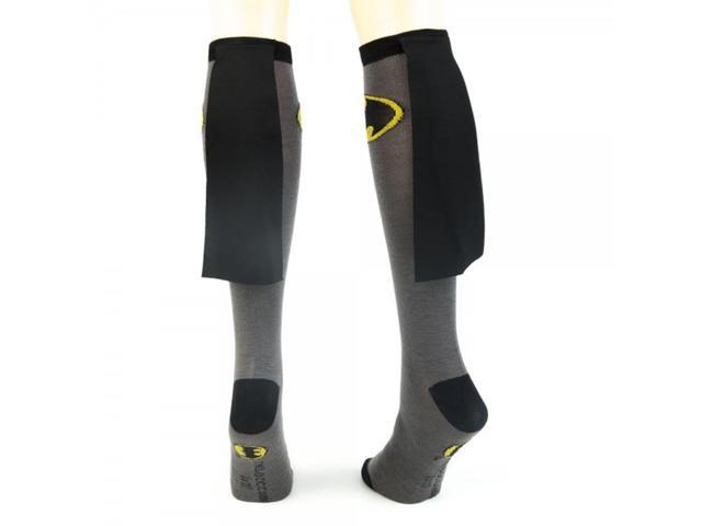 Batman Suit Up Crew Socks With Cape One Size Fits Most