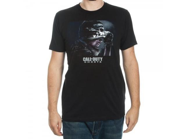 Call Of Duty Ghosts Premium Black T Shirt XX-Large