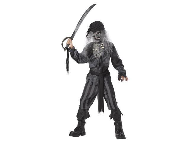 Ghost Ship Pirate Costume Child Tween 10-12