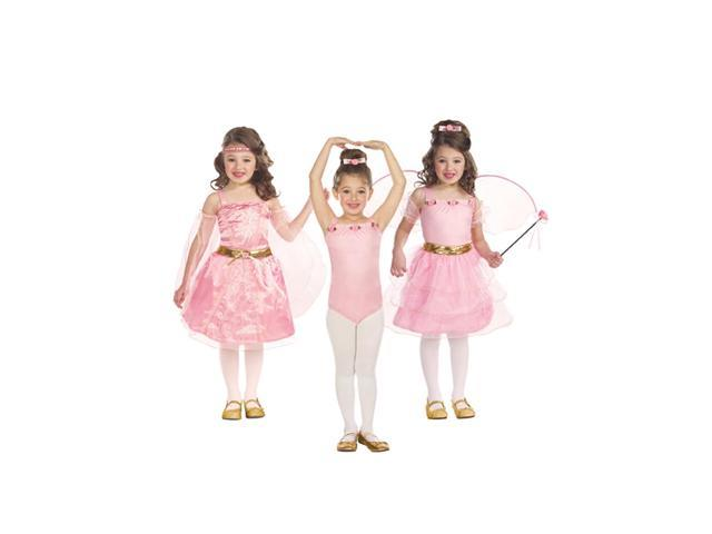 Storybook Beauties 3 In 1 Princess Ballerina Fairy Costume Child Small 3-5