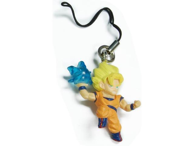 Dragon Ball Z Super Saiyan Goku Figure Phone Strap