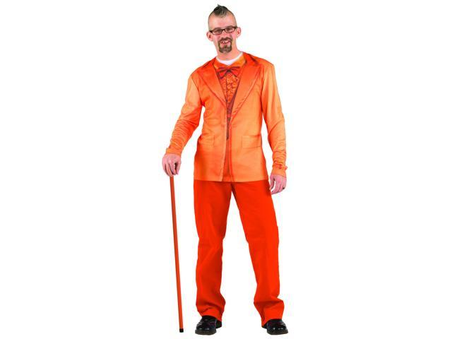 Faux Orange Tuxedo Costume T-Shirt Adult X-Large