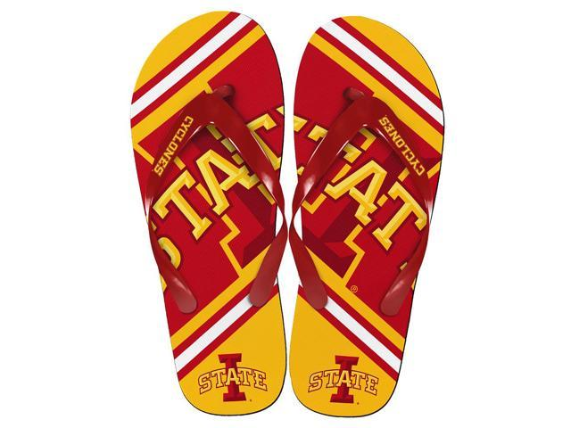 Alabama Crimson TIde Unisex Big Logo Flip Flops Large (M 9-10)
