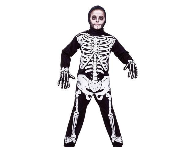 Child Skeleton Costume Small