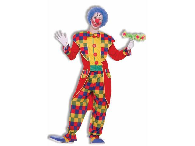 Circus Clown Tuxedo Suit Costume Adult Standard
