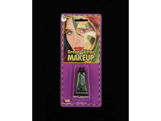 St. Patrick's Green Glitter Costume Makeup Gel One Size