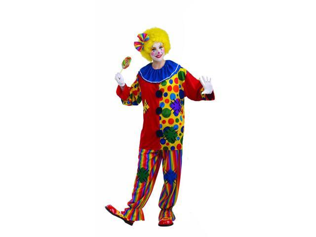 Big Top Clown Unisex Costume