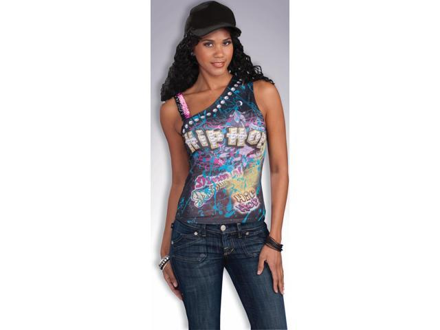 Hip Hop T-Shirt Graphic Costume Top Adult Standard