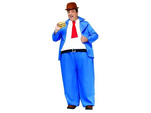 Popeye Wimpy Costume Adult One Size Fits Most