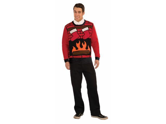Christmas Eve Ugly Christmas Sweater Adult Large