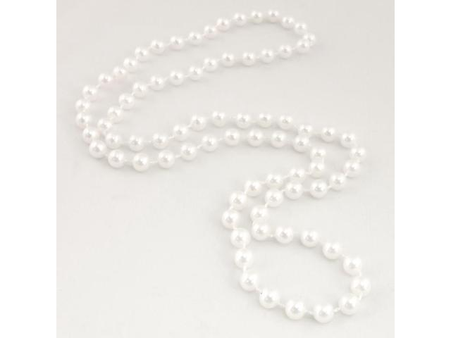 String Of White Beads Accessory