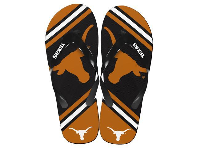 Texas Longhorns Unisex Big Logo Flip Flops X-Small (W 5-6)