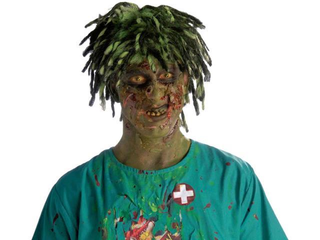 Biohazard Zombie Contaminated Adult Male Costume Wig One Size