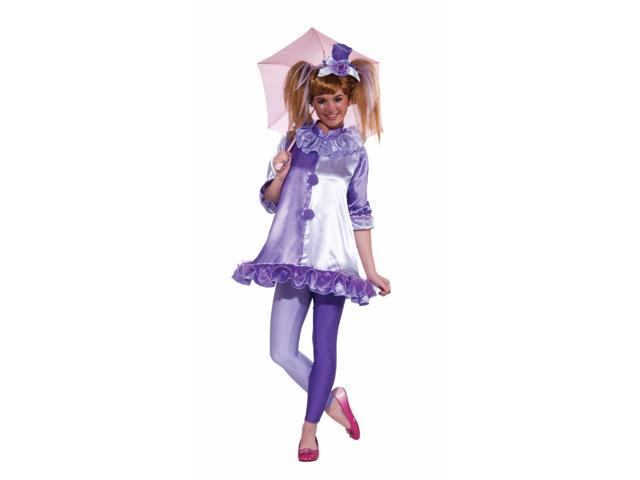 Violet The Clown Costume Dress Teen One Size Fits Most