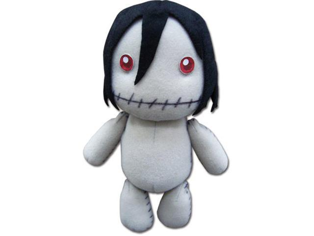 Plush: Black Butler Sebastian Made by Grell Plushie toy doll character ~7 inches GE Animation