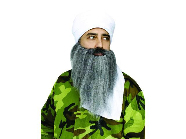 Turban & Beard Instant Costume Accessory Set Adult One Size