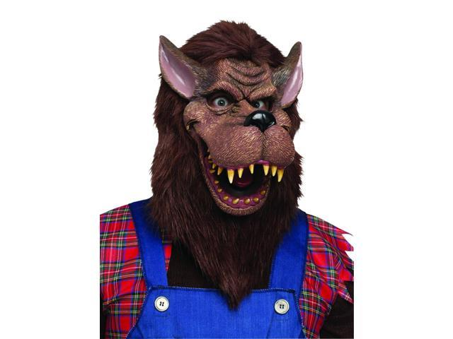 Big Bad Wolf Costume Mask Adult One Size