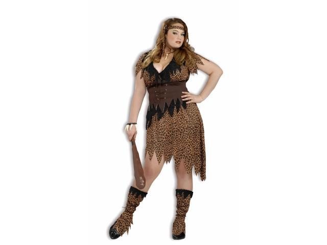 Cave Beauty Woman Costume Adult Plus Plus