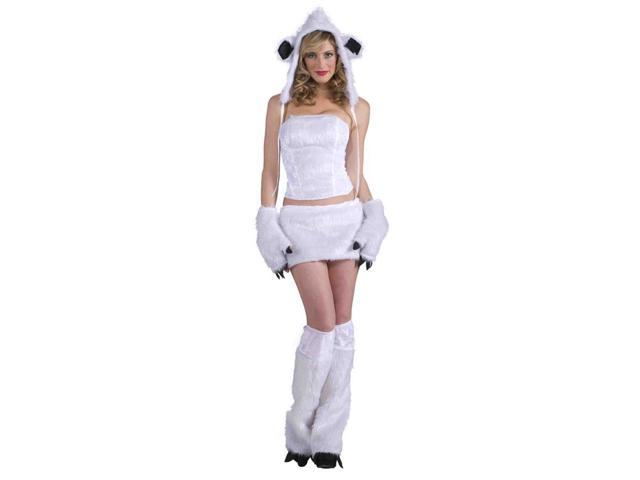 Sexy Polar Bear Adult Costume X-Small/Small